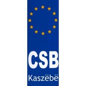 CSB EU Kaszëbë Naklejka