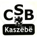 CSB Kaszëbë Naklejka