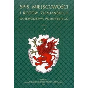 Spis miejscowości i rodów ziemiańskich województwa pomorskiego