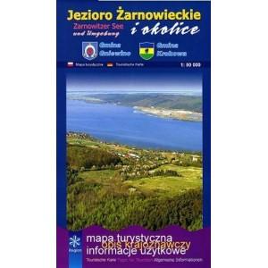 Jezioro Żarnowieckie i okolice Mapa