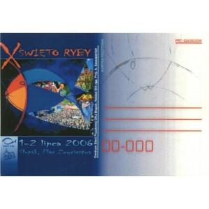 X Święto Ryby Kartka pocztowa