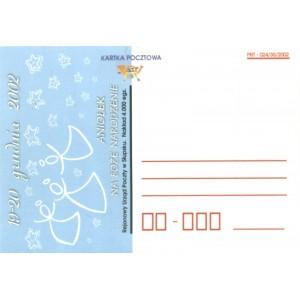 Aniołek na Boże Narodzenie Kartka pocztowa