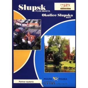 Słupsk Plan Miasta Okolice Słupska Mapa