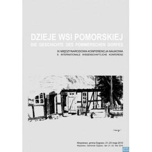 Dzieje wsi pomorskiej Tom IX