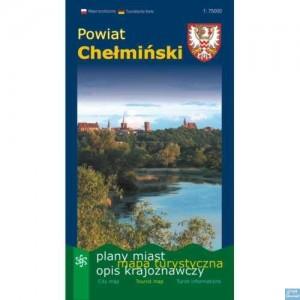 Powiat chełmiński Mapa