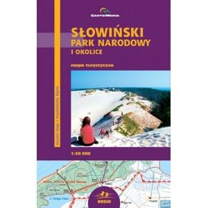 Słowiński Park Narodowy i okolice Mapa