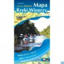 Rzeka Wieprza Gmina Sławno Mapa