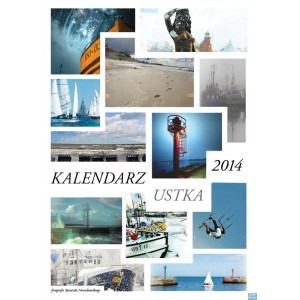 Ustka Kalendarz ścienny 2014