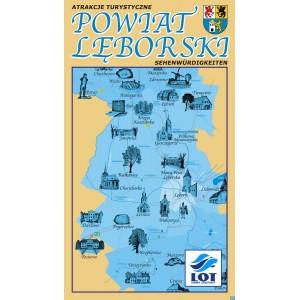 Powiat Lębork Mapa
