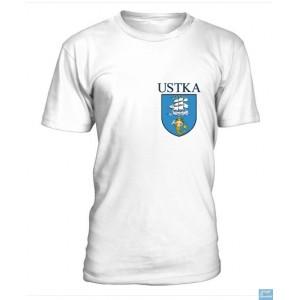 Ustka - Koszulka z herbem