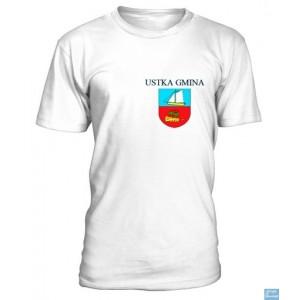 Ustka Gmina - Koszulka z herbem