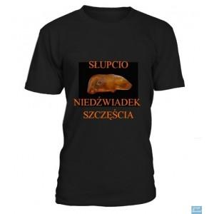 Słupcio Niedźwiadek Szczęścia - Koszulka