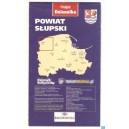 Powiat słupski Mapa turystyczna